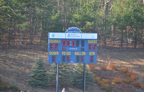 Leary Field Scoreboard